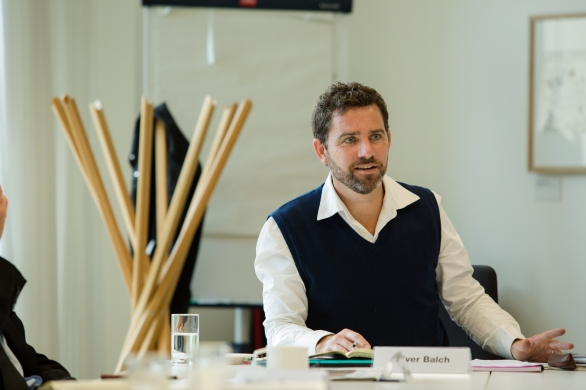 Oliver Balch - Guardian Roundtable: Building a more sustainable food industry, 12/09/2014.